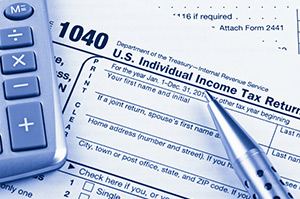1040 tax form and calculator